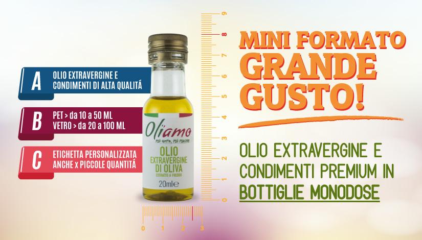Olio Extravergine in bottiglia PET